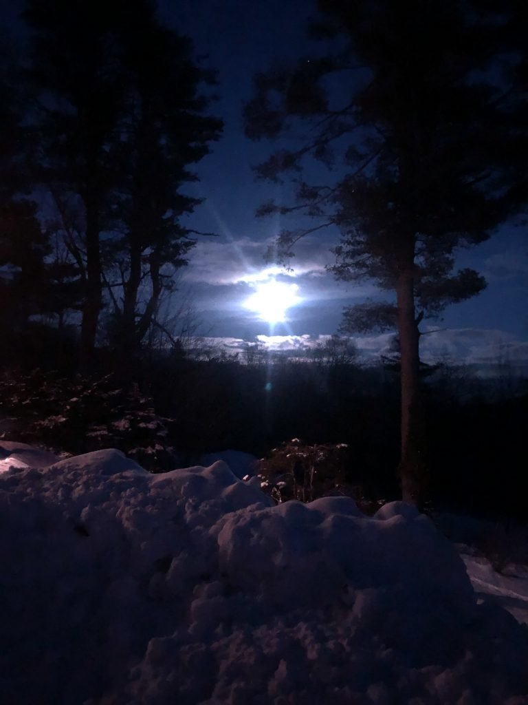 Moon over Holt Hill - Spencer Peery
